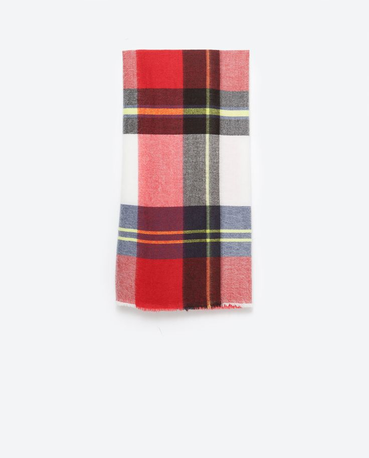 SOFT CHECKED SCARF-Scarves-Accessories-WOMAN | ZARA United States