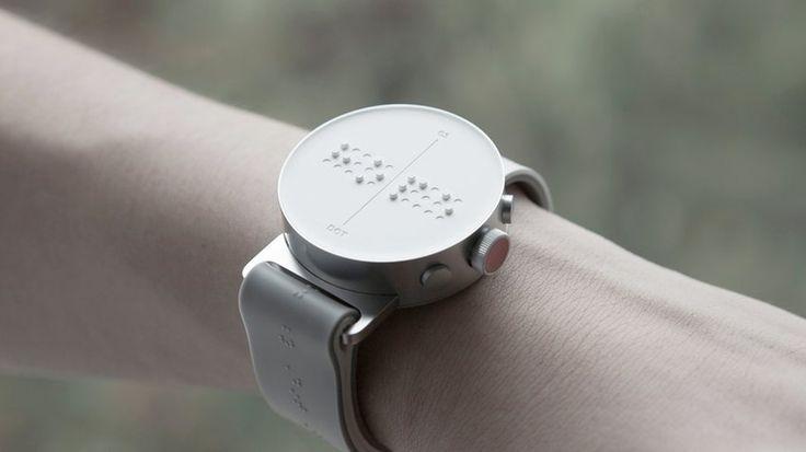 Erste Smartwatch für blinde Menschen