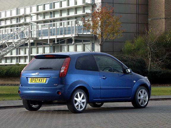 Ford Fiesta Zetec (2008).