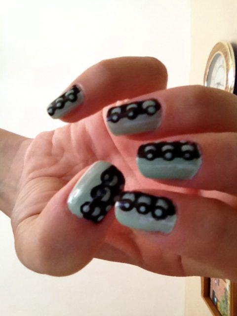 50 mejores imágenes de Nail Art I\'ve tried en Pinterest | Arte de ...