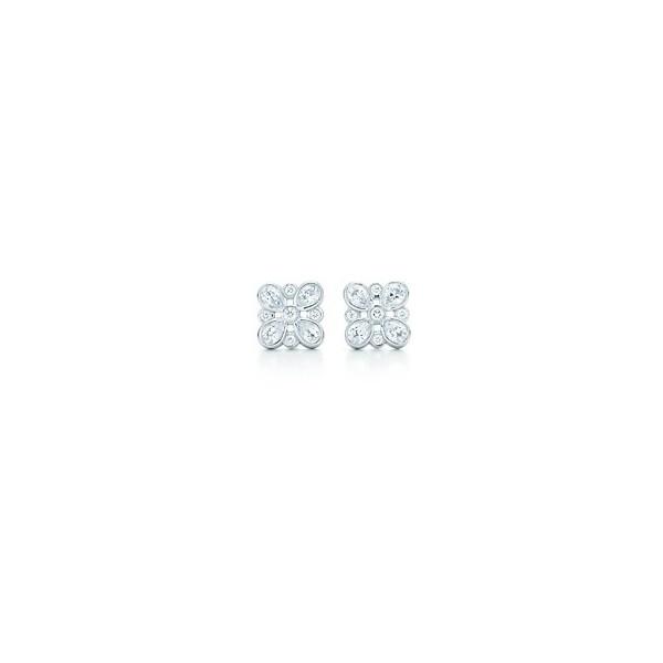 Orecchini di diamanti Tiffany Enchant ❤ liked on Polyvore
