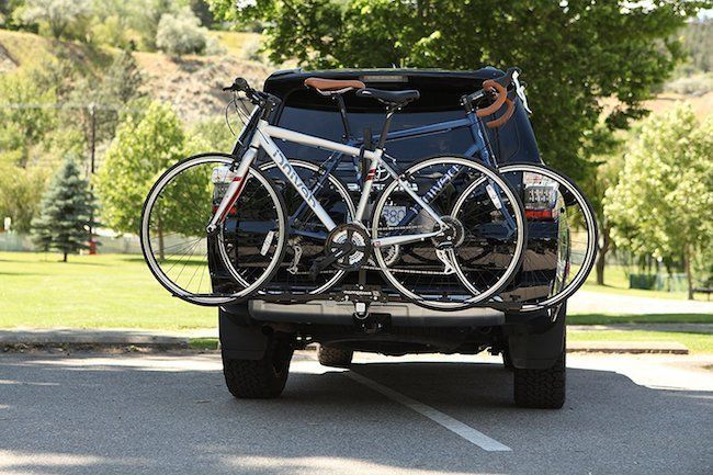 Bike Hitch Mount Rack Holds 2 Bicycles Fits 2 Size Receivers 20 To 29 Inch Tire #SwagmanBicycleCarriers