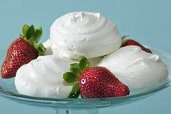 Meringue Cookies are so airy, sweet and crisp that they seem to almost melt in your mouth.  From Joyofbaking.com With Demo Video