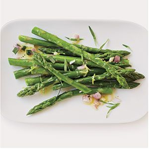 What to do with a slew of fresh tarragon from your herb garden?  Check out this simple and delicious asparagus side dish.  Screams summer!