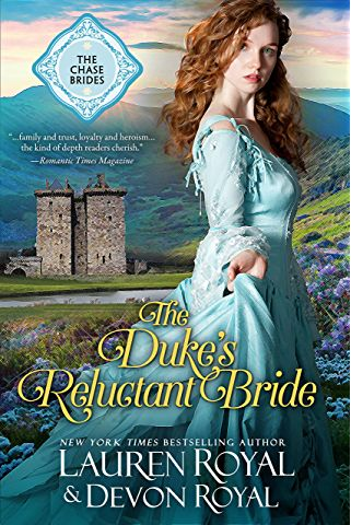 The Duke's Reluctant Bride: A Sweet & Clean Historical Romance (The Chase Brides Book 4)