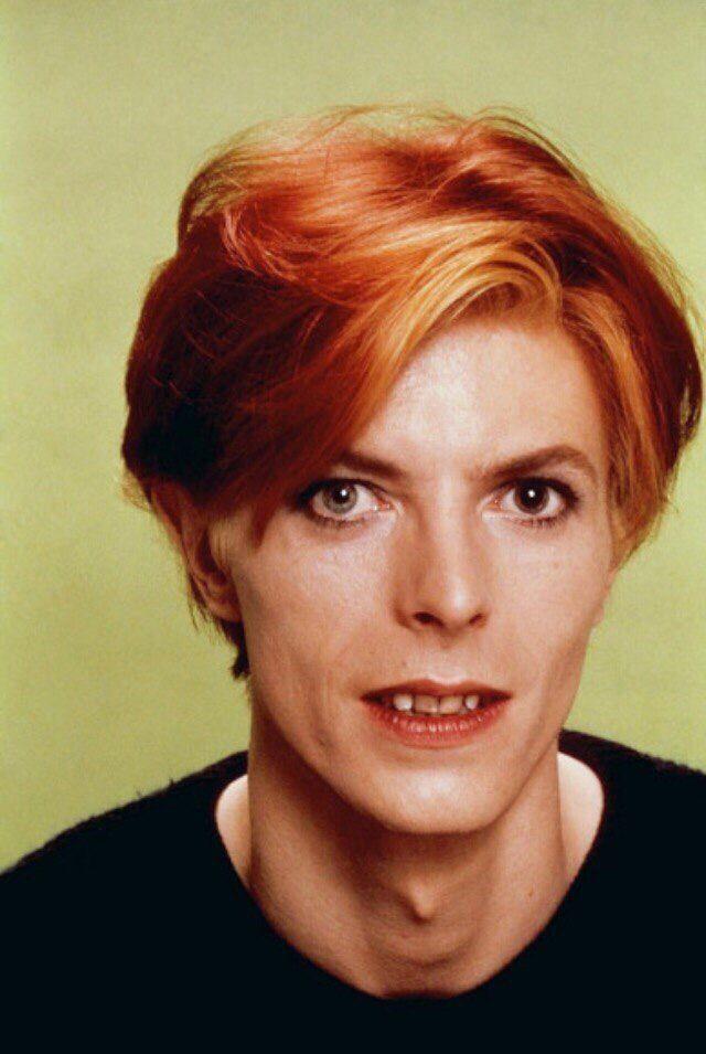 Haircut David Bowie Red Hair