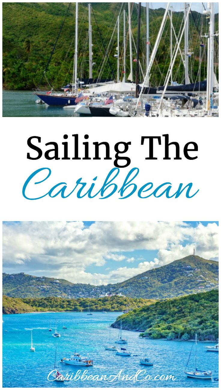 One of the best ways to travel, explore and visit multiple islands in the Caribbean is by sailing around on a boat or yacht.