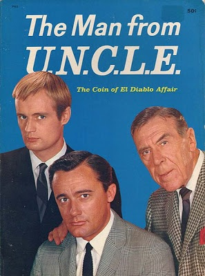 This is a picture of the dvd cover of man from uncle.