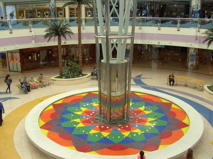Marina Mall-Abu Dhabi- Fountain