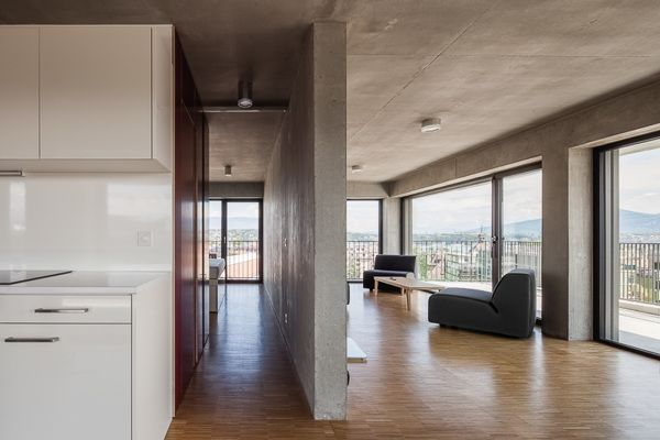 Student house Geneva Lacroix | Chessex architectes
