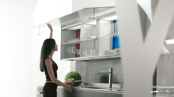 Tall kitchen cabinet - AERIUS - VALCUCINE