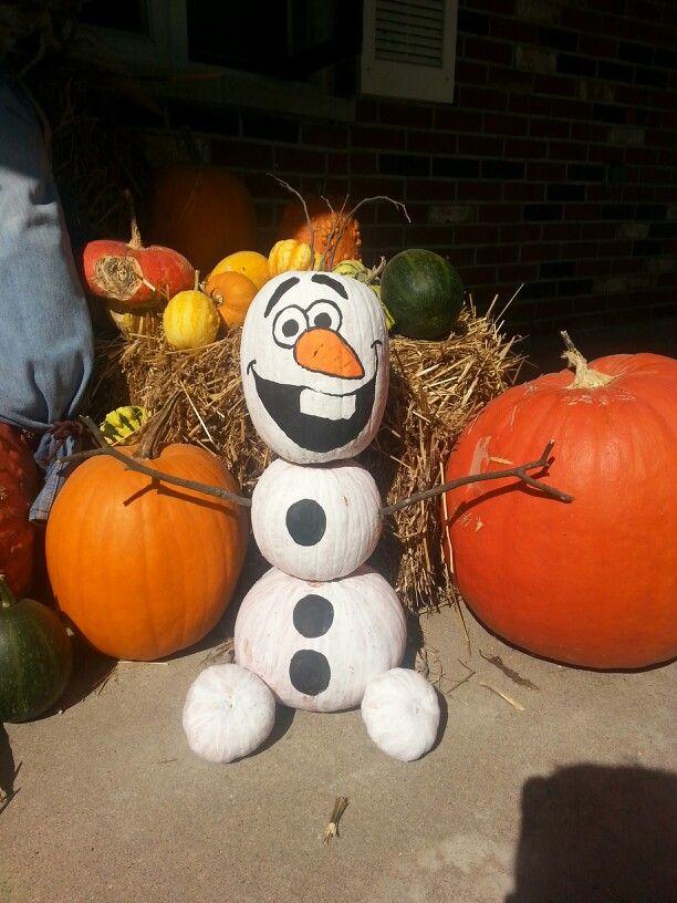 Olaf pumpkins