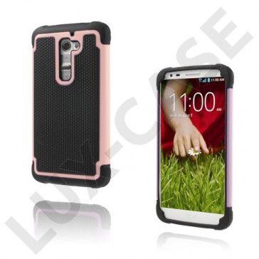 Impact (Rosa) LG G2 Ultra-Sikkert Deksel