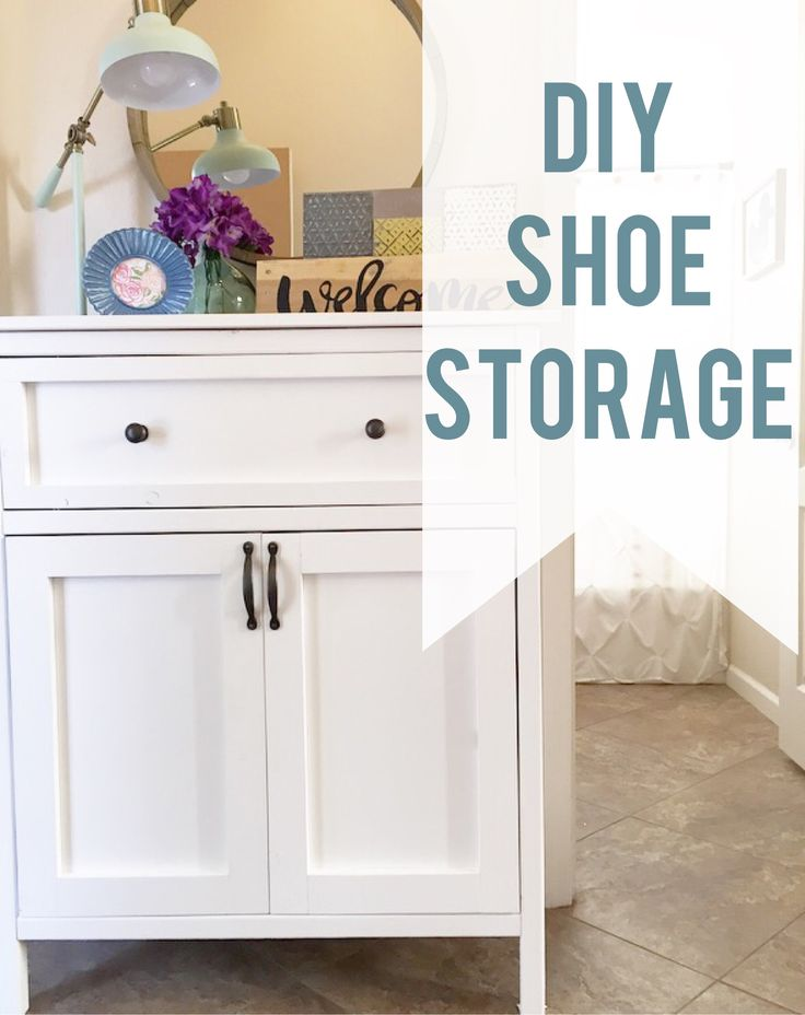 See How To Build This Beautiful Entry Way Shoe Storage.