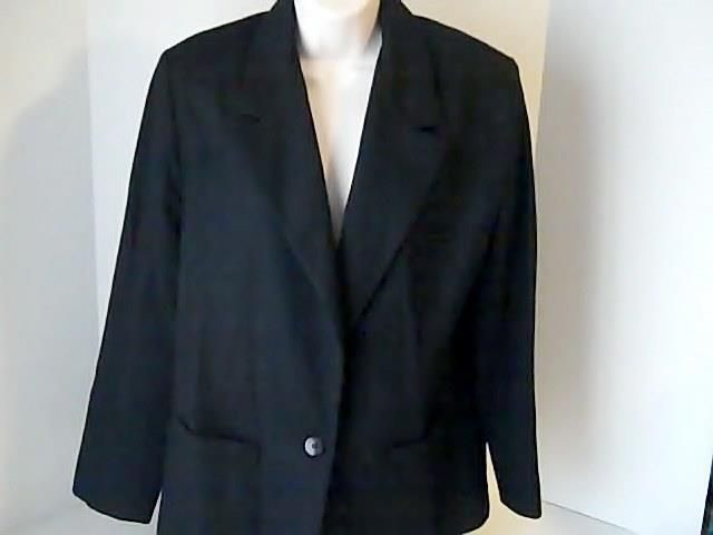 EMO Womens Vintage 12 Black Coat Jacket USA 100% Wool