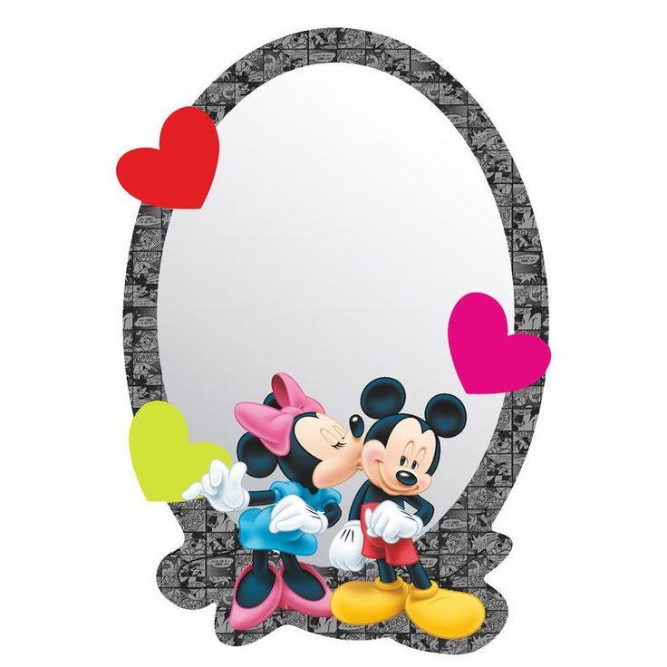 Minnie egér, Mickey egér szerelmes tükör