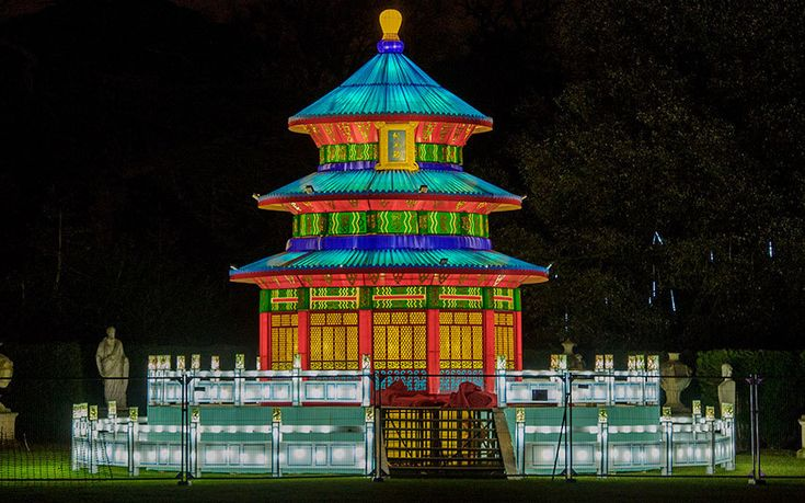 The Magical Lantern Festival comes to London for Chinese New Year, in pictures - Telegraph