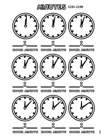 356 best clock images on Pinterest The hours, Clock and Math - time worksheets