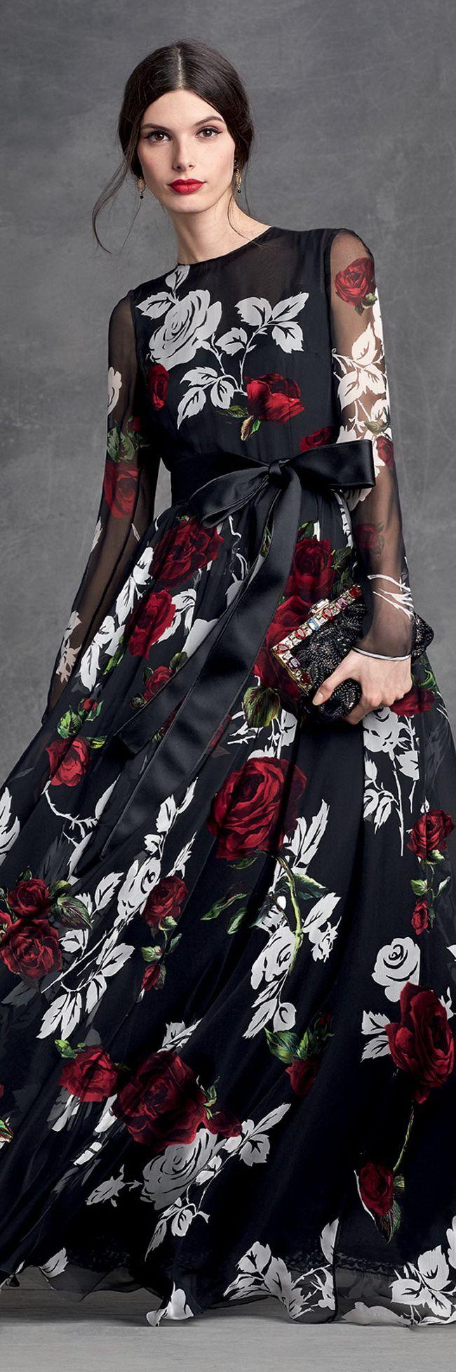 Dolce & Gabbana, Winter 2016.                                                                                                                                                                                 More