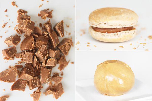 Karamelliseret hvid chokolade