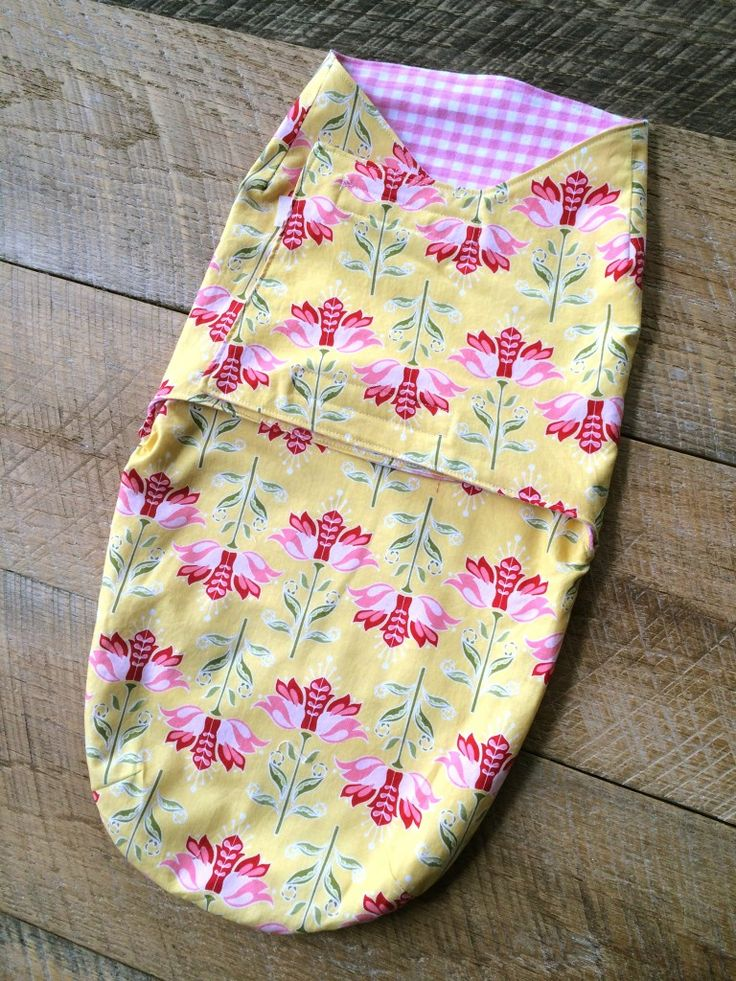 DIY Baby Swaddler - free pattern download and instructions