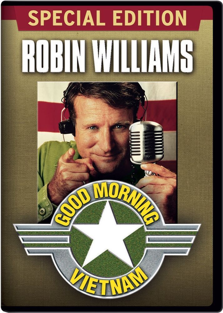 an analysis of good morning vietnam by robin williams This 1987 file photo released by touchstone pictures shows actor robin williams in character as disc-jockey adrian cronauer in director barry levinsons comedy drama, good morning vietnam.