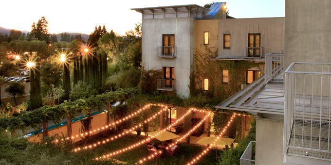 Northern California Destination Wedding Venue: Hotel Healdsburg