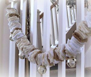 DIY christmas garland felt crafts by jana