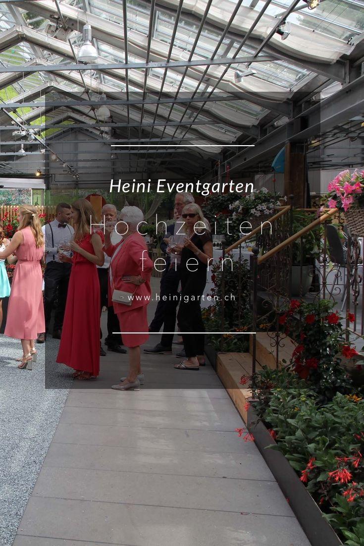 Im Eventgarten von Heini können Sie Ihren Hochzeit-Anlass feiern. Eine einzigartige Location in Luzern.