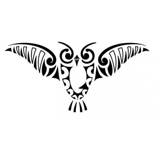 Maori Tattoo Symbols and Meanings | Buho alas abiertas