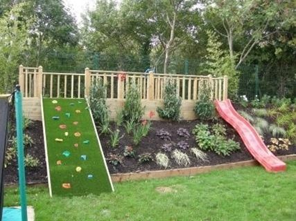THIS IS SOOO PERFECT FOR OUR BACKYARD! I FINALLY KNOW WHAT TO DO WITH THE SLOPE! AND WE ALREADY HAVE THE SLIDE!!!!!!!!!!!!!!!!!!!!!!!!!!!