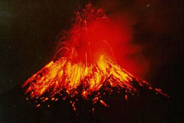 According to Volcano Discovery, 40 volcanoes around the globe are erupting right now, and only 6 of them are not along the Ring of Fire.