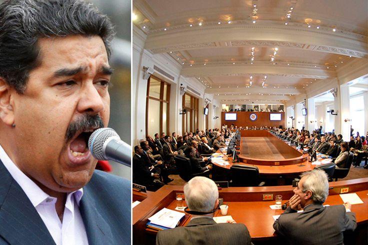 ¡ALERTA, URGENTE! Maduro lanza GRAVE amenaza si se realiza este miércoles sesión  OEA sobre crisis en el país (Video)