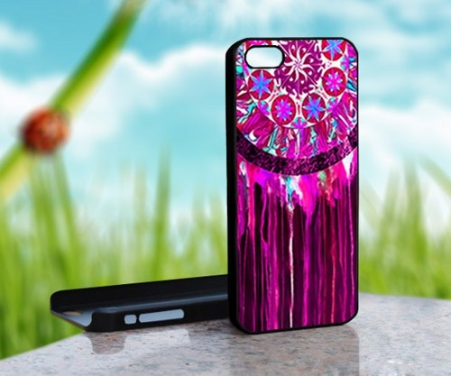 Dream Catcher Painting Custom - Print on Hard Cover For iPhone 5