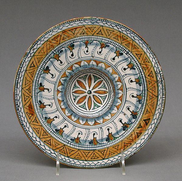 Dish Maiolica Tin Glazed Earthenware Italian Deruta Deruta Italian Ceramics Deruta Painted Ceramic Plates