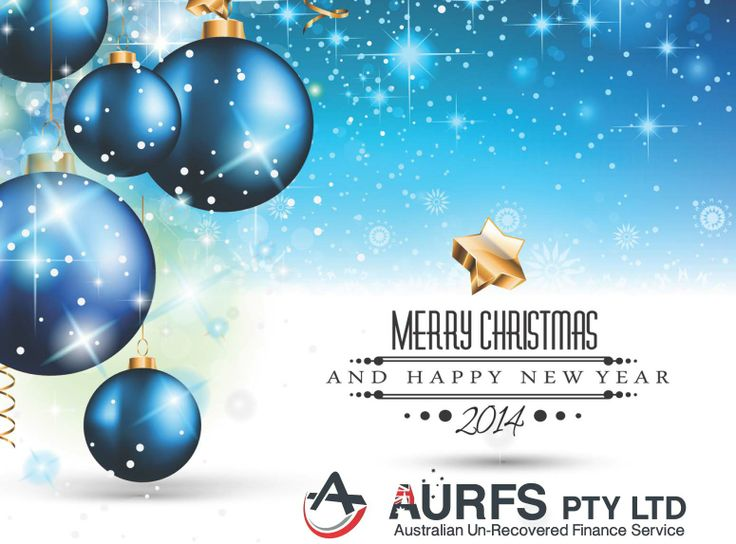 Merry Christmas & Happy New Year ~from the team at AURFS Pty Ltd