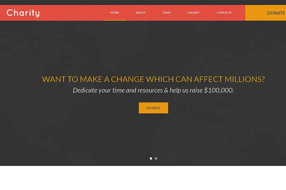 Check out Charity Responsive One Page Theme by IceTemplates on Creative Market