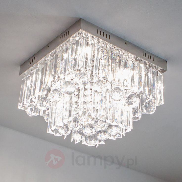 Migocząca lampa sufitowa LED Loan 4018049
