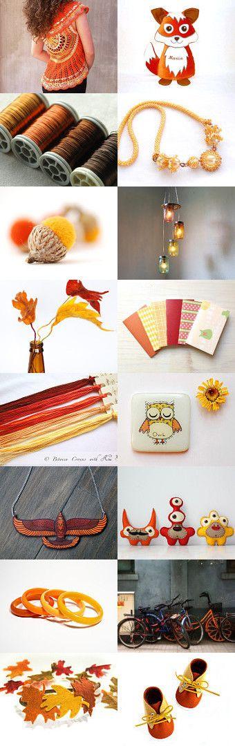 Fall Yellow by Bea on Etsy--Pinned with TreasuryPin.com
