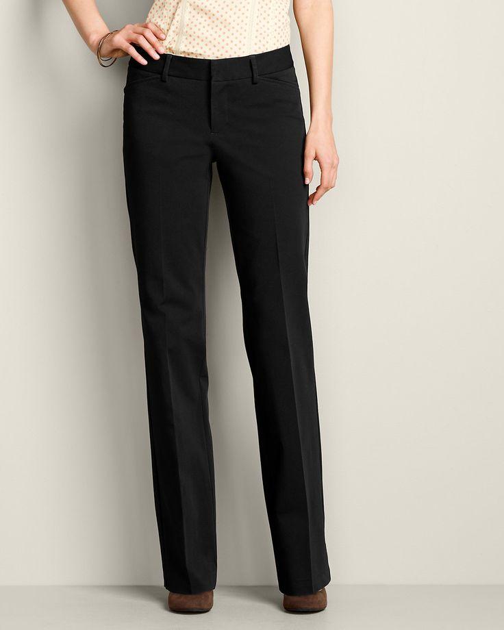 Womens Stayshape Twill Trousers - Slightly Curvy  Tall -9432