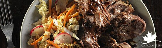 Vietnamese Style Beef Pot Roast with Asian Slaw.Try this easy  cook once, eat twice recipe-  from the Make it Beef Club January 2014 http://www.beefinfo.org/default.aspx?ID=10&SecID=4&RecipeID=499 #LoveCDNBeef #MakeitBeefClub