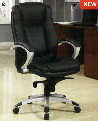 NTR- No tools required for assembly. Beautifully upholstered with Black LeatherPlus. LeatherPlus is leather that is polyurethane infused for added softness and durability. Waterfall seat design eliminates leg fatigue. Ergonomic back design with lumbar support. Upright locking position. Adjustable tilt tension. Pneumatic gas lift seat height adjustment. Optional knee-tilt mechanism available model (B8602). For more Visit…