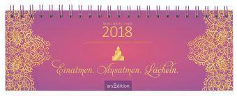 Ausatmen. Lächeln. Kalender 2018