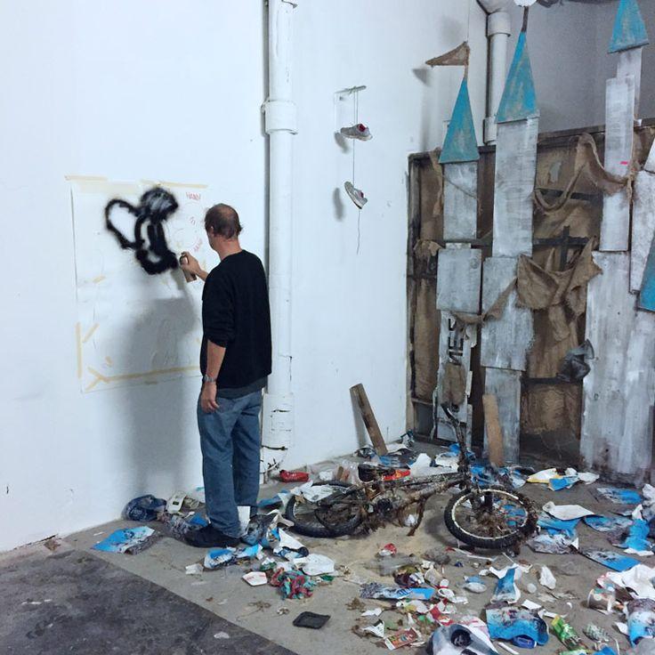 "Jeff Gillette and ""Dismayland"" Emerge from Nuart Debris : Brooklyn Street Art"