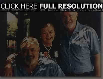 Barbara Hale, Robert Benevides and Raymond Burr