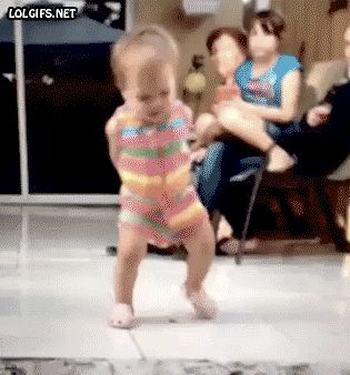 Dancing baby. Too Cute!I can see my KID DO THIS ONE DAY OR MY BABY TURTLE!