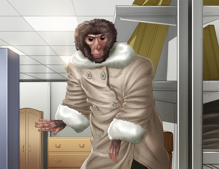 Monkeying around at Ikea: fur-coated primate found in store.