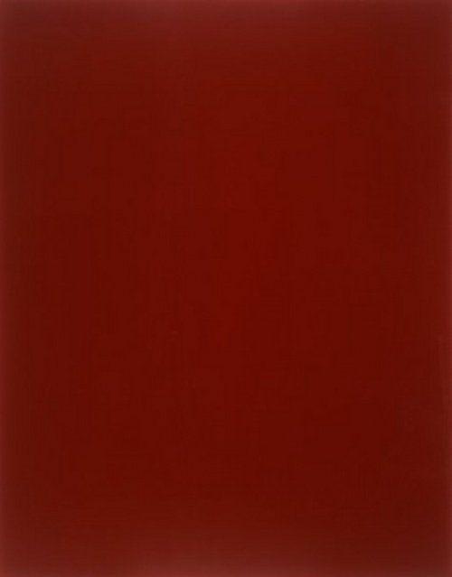 Странные картины, проданные за миллионы.   «Кроваво-красное зеркало» Герхардт Рихтер — $1 000 000
