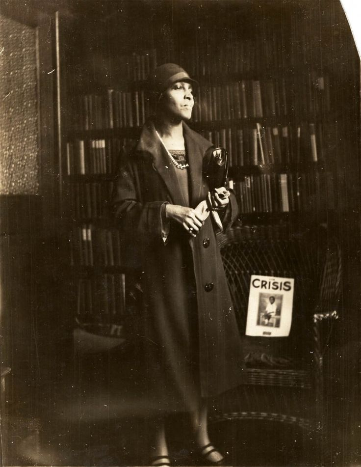 "Richetta Randolph Wallace, circa 1930. She was private secretary to Mary White Ovington, a writer, suffragist and one of the founders of the NAACP. She was also private secretary to James Weldon Johnson, attorney, poet, author (""Autobiography of an Ex-Colored Man) and composer of ""Lift Ev'ry Voice and Sing"") and the executive secretary of the NAACP, Walter White. Born in Virginia in 1884, Ms. Randolph moved to the Bedford-Stuyvesant section of Brooklyn in 1933 and remaine"