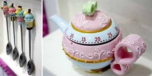 Invenções Interessantes: Cupcakes Artesanais - Decorativos e Acessórios.